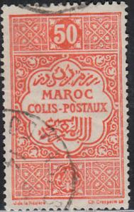 French Morocco #Q6 Used