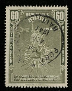 Haiti 1941 Airmail - The 3rd Caribbean Conference 60c (TS-954)