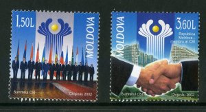 MOLDOVA 430-31 MNH SCV $3.25 BIN $1.75 SUMMIT