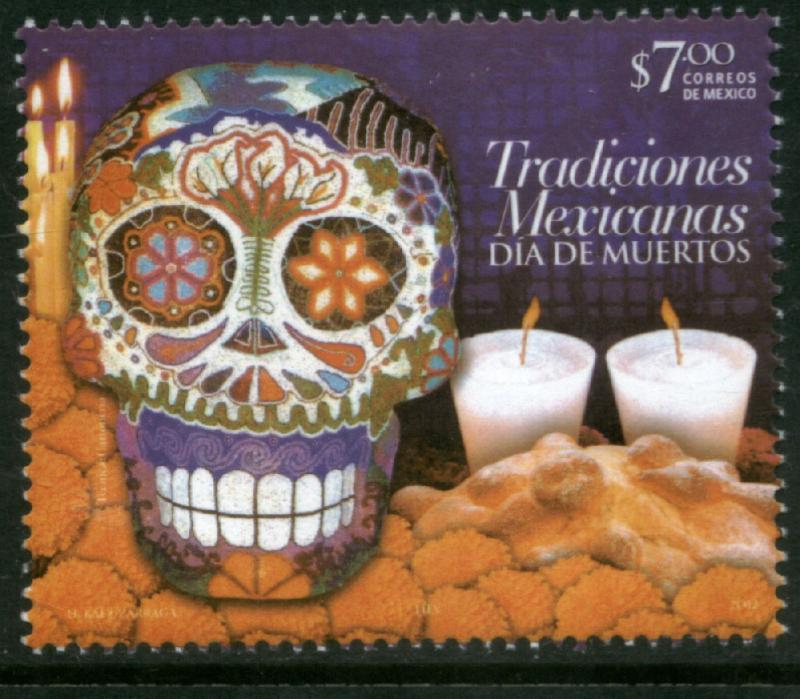 MEXICO 2801, DAY OF THE DEAD (ALL SOULS' DAY). MINT, NH. F-VF.