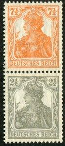 Germany    Sc.#97-8f  MNH**  pair