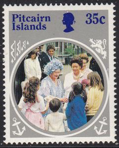 Pitcairn Isl. 254 MNH 1985 35c QM 85th Birthday