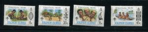 Solomon Islands #377-80 MNH