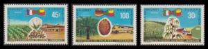 Dahomey Fruits Europafrique 3v SG#374-376