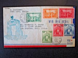 Philippines 1939 - 2 Series First Day Cover - Z4907