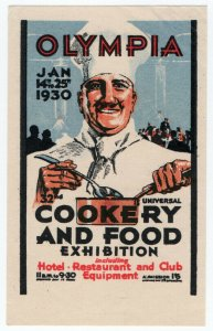 (I.B) Cinderella Collection : Cookery & Food Exhibition (Olympia 1930)
