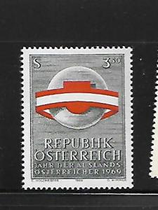AUSTRIA, 845, MNH, YEAR OF AUSTRIANS LIVING ABROAD