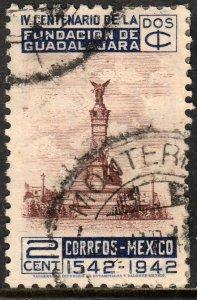 MEXICO 771, 2c 400th Anniv of Guadalajara. Used. VF. (718)
