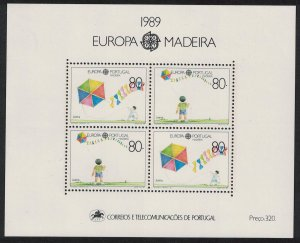 Madeira Europa Children's Games and Toys MS SG#MS247