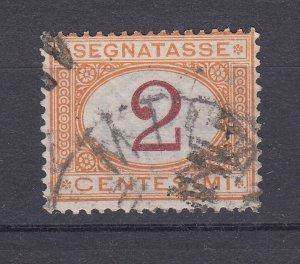 J28503, 1870-1925 italy used  #j4 postage due