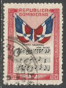 DOMINICAN REPUBLIC C57 VFU FLAG P292-8