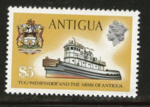 ANTIGUA Tug boat Scott 257a watermark upright CV$9.75 MH*