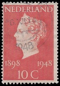 Netherlands #302 1948 Used