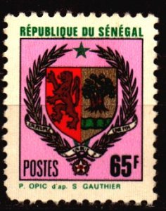 Senegal Scott 336D Unused NH w/pulled perf
