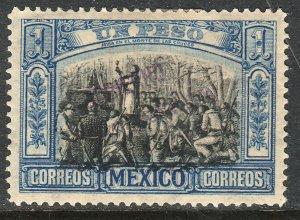 MEXICO-Monterrey 432VAR TII $1P GOB. REV PROV OVPT CONSTIT.. UNUSED VF (1221)