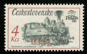 Locomotive 1907, 4 KCs, MNH ** (T-7472)