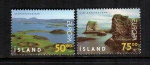 Iceland  883 - 884  MNH cat $ 4.00