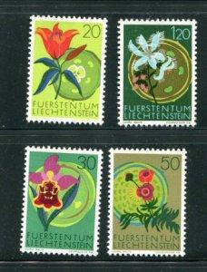 Liechtenstein MNH 466-9 Flowers