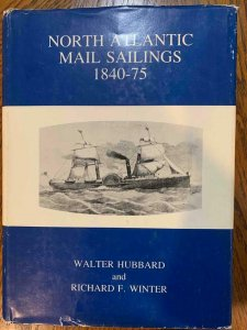North Atlantic Mail Sailings by Hubbard & Winter 1988, Stamp Philately Book