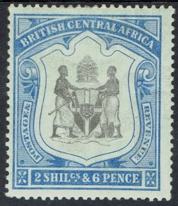 BRITISH CENTRAL AFRICA 1897 ARMS 2/6
