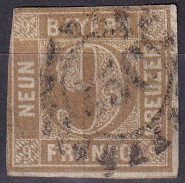 Bavaria #12 Used CV $16.00 (Z6820)