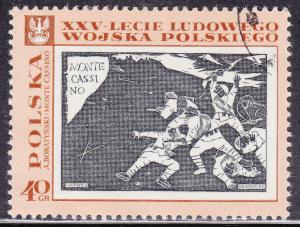 Poland 1613 CTO 1968 'Monte Cassino'