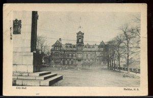 City Hall Halifax 1947  N.S. Nova Scotia post card Canada