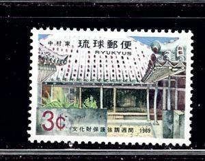 Ryukyu Is 191 MNH 1969 issue
