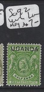 UGANDA (P2705BB) QV  OVPT ON BEA  SG 92 LINES WMK  MOG