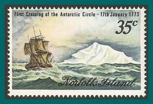 Norfolk Island 1973 Antarctic Circle, MNH #152,SG129