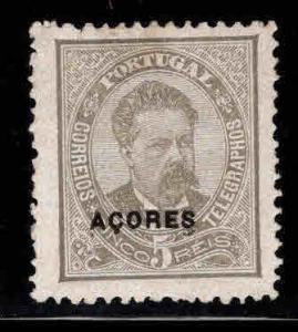 Azores Scott 44 MH* hinge remnant, black opt CV $19