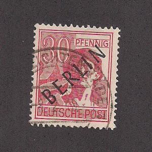 GERMANY SC# 9N11 F-VF U 1948
