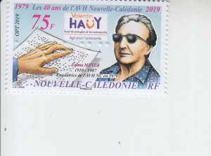2019 New Caledonia Association Valentin Hauy  (Scott NA) MNH