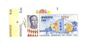 Monaco Scott 1817-1820 NH    [ID#427494]