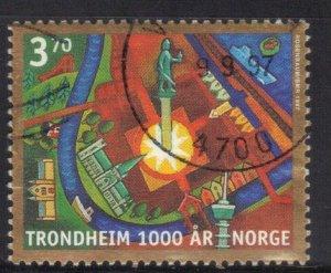 NORWAY SC# 1168 *USED* 3.70k  1997      SEE SCAN 2