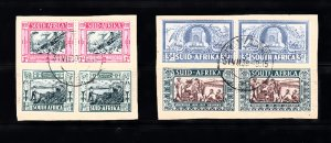 SOUTH AFRICA SC# B5-B8 PAIR USED - SALE TO A USA ADDRESS ONLY
