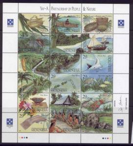 Micronesia 186 MNH Boats, Fish, Flowers, Trees, Yap Culture