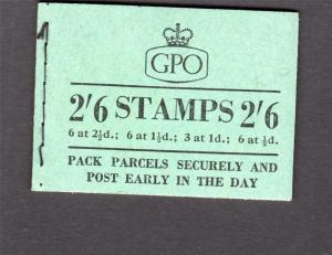 2/6 BOOKLET OCTOBER 1956 Cat £40