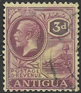 Antigua 58    1921   3d  fine used