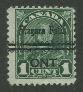 CANADA PRECANCEL NIAGARA FALLS 1-163b