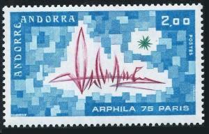 Andorra Fr 241,MNH.Michel 269. ARPHILA-1975.Abstract design.