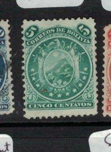 Bolivia SC 15 MOG (3ekv)