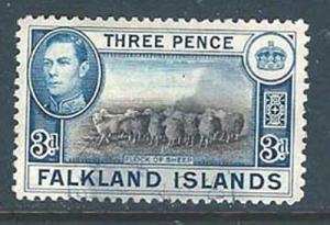 Falkland Islands 87a (H)