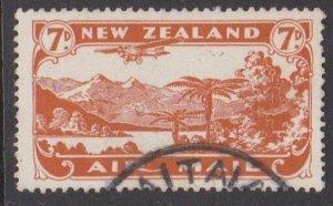 NEW ZEALAND 1931 7d airmail fine used - ACS cat NZ$30.......................M457
