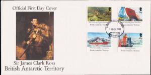 British Antarctic Territory Scott 184-187 Unaddressed.