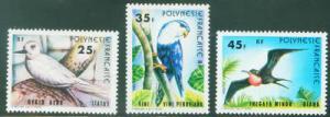 FRENCH POLYNESIA Stamp Scott 337-339 MNH** Bird Set