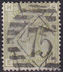 Great Britain #70 Plate 15  F-VF Used  CV $325.00 (Z9107)