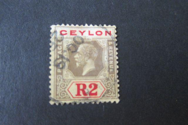Ceylon 1921 SG 316d selected OurRef#w168