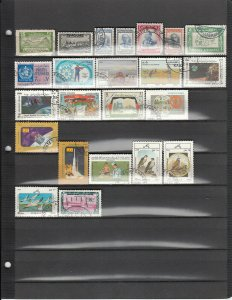 AFGHANISTAN 23 DIFFERENT USED 322A/C58 SEE DESCRIPTION AREA LIST 2019 SCV $12.95