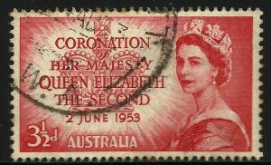Australia 1953 Scott# 259 Used
